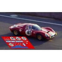Ferrari Dino 206 S - Le Mans 1969 nº61