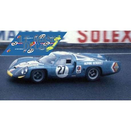 Alpine A220  - Le Mans 1968 nº27