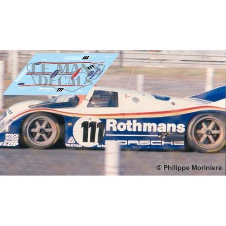 Porsche 962C - Le Mans Test 1985 nº111