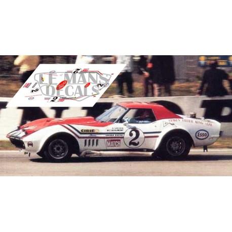 Corvette C3 L88 - Le Mans 1971 nº2