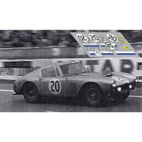 Ferrari 250 GT SWB - Le Mans 1961 nº20