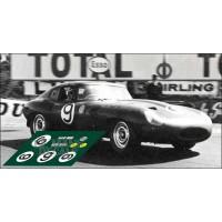 Jaguar E-Type - Le Mans 1962 nº9