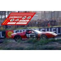 Ford GT40 - Le Mans 1965 nº6 Finish Line