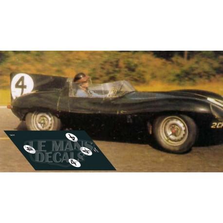 Jaguar D Type - Le Mans 1957 nº4