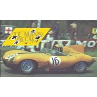 Jaguar D Type - Le Mans 1957 nº16