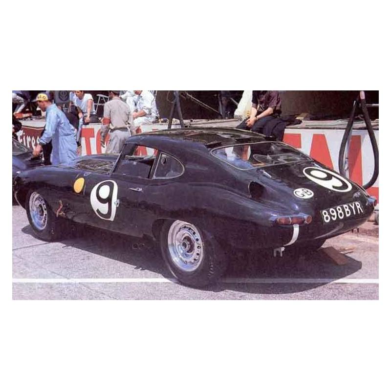 jaguar e type le mans 1962 n 9 lemansdecals. Black Bedroom Furniture Sets. Home Design Ideas