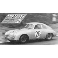 Porsche 356A Coupe - Le Mans 1956 nº26