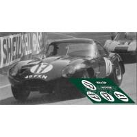 Jaguar E-Type Lightweight - Le Mans 1964 nº17