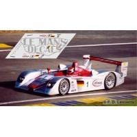 Audi R8 LMP  - Le Mans 2002 nº1
