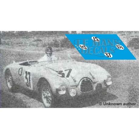Gordini T15S - Le Mans 1951 nº37