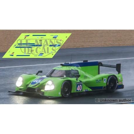 Ligier JS P2  - Le Mans 2016 nº40