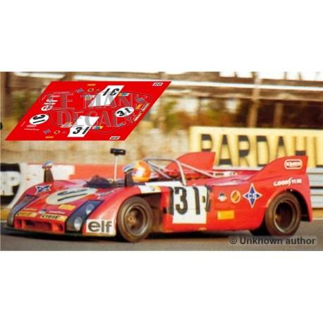 Porsche 908/03 - Le Mans 1974 nº31