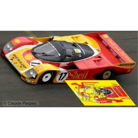 Porsche 962C - Le Mans 1988 nº17