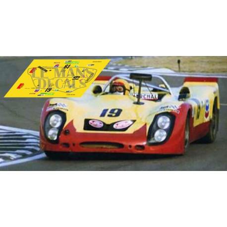 Porsche 908/02 - Le Mans 1974 nº19