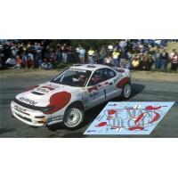 Toyota Celica ST185 - Tour Corse 1992 nº1