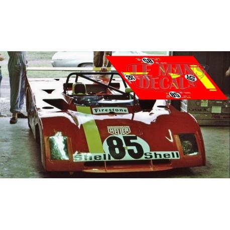 Ferrari 312 PB - Watkins Glen 1972 nº85