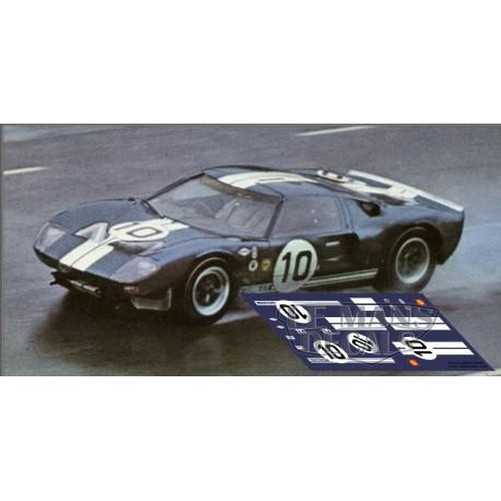 Ford GT40 - Sebring 1965 nº10