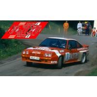 Opel Manta 400 - Rallye Wallonie 1984 nº1