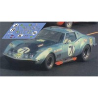 Corvette C3 L88 - Le Mans 1972 nº71