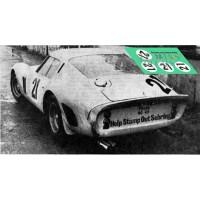 Ferrari 250 GTO - Le Mans 1962 nº21