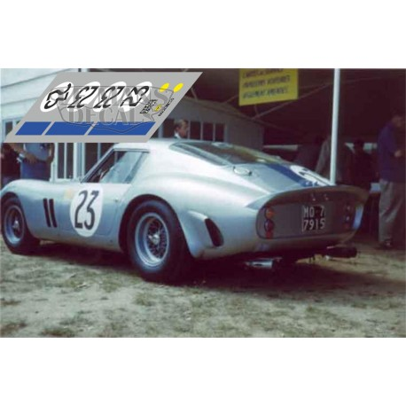 Ferrari 250 GTO - Le Mans 1962 nº23