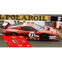 Ferrari 512 BB - Le Mans 1982 nº73