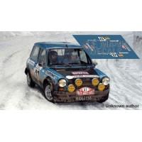 Autobianchi A112 - Rallye Montecarlo 1977 nº37