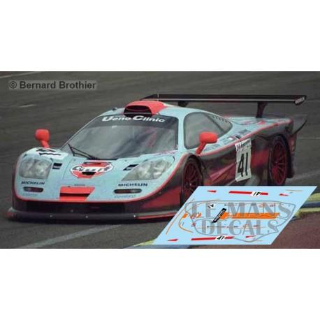 McLaren F1 GTR LM - Le Mans 1997 nº41