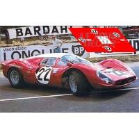 Ferrari 412 P - Le Mans 1967 nº22