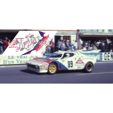 Lancia Stratos - Le Mans 1977 nº89
