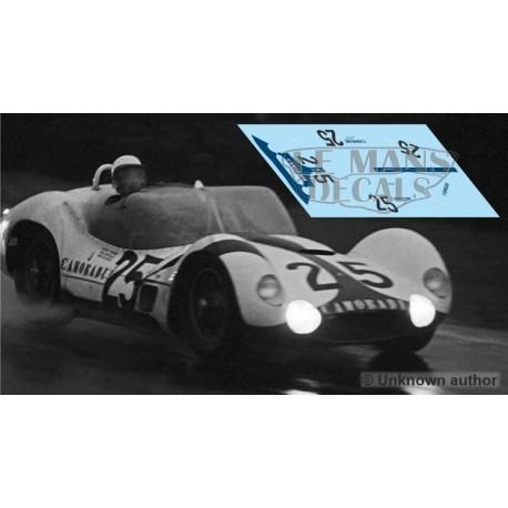Maserati Tipo 61 - Le Mans 1960 nº25