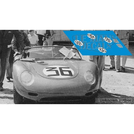Porsche 718 RSK - Le Mans 1960 nº36