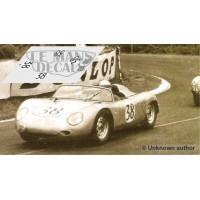 Porsche 718 RSK - Le Mans 1960 nº38