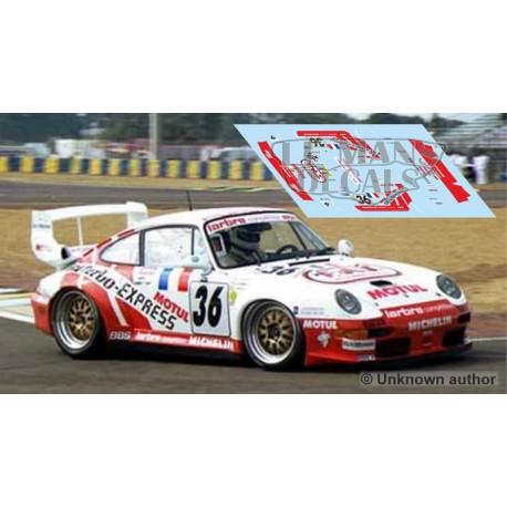 Porsche 911 GT2 evo - Le Mans 1995 nº36