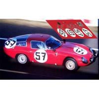 Alfa Romeo TZ1 - Le Mans 1964 nº57