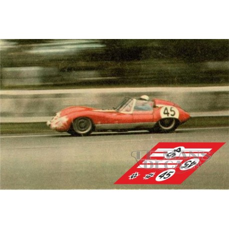 Lola MkI - Le Mans 1960 nº 45