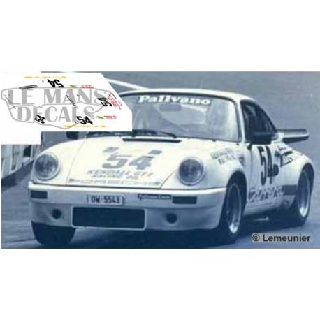 Porsche 911 Carrera RS - Le Mans Test 1975 nº54