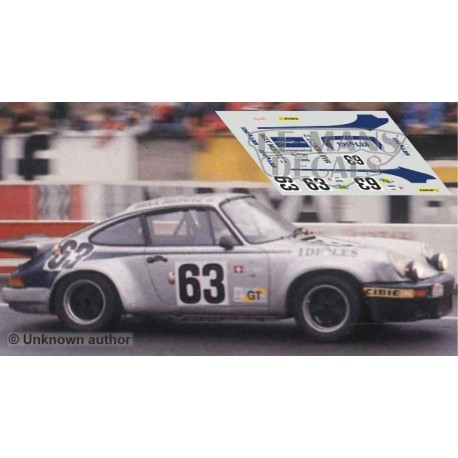 Porsche 911 Carrera RS - Le Mans 1975 nº63