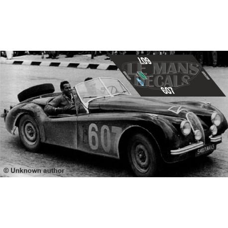 Jaguar XK 120 - Coupe des Alpes 1953 nº607
