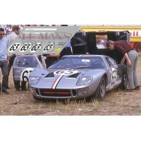 Ford GT40 - Le Mans 1966 nº63