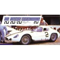 Maserati Tipo 151 - Le Mans 1962 nº2