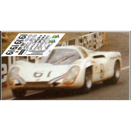 Porsche 907 - Le Mans 1970 nº61