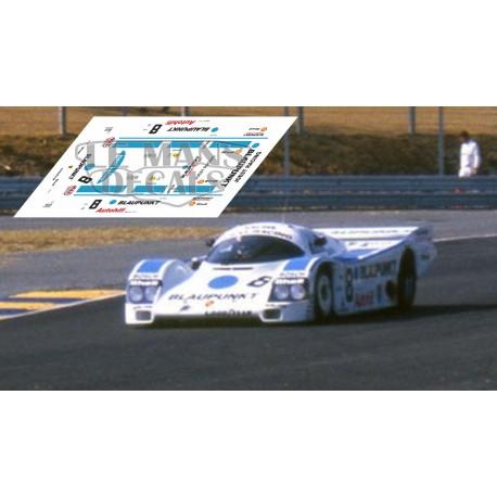 Porsche 962C - Le Mans 1988 nº8