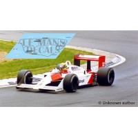 McLaren MP4/4 - GP Inglaterra 1988 nº12