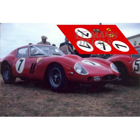 Ferrari 330 GTO - Le Mans 1962 nº7