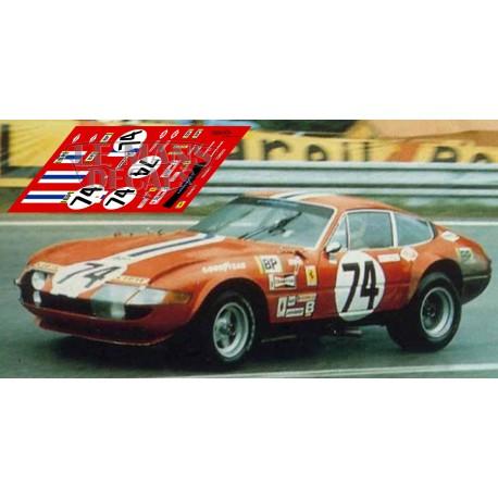 Ferrari 365 GTB/4 - Le Mans 1972 nº 74