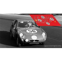 Abarth 700 S - Le Mans 1962 nº56