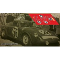 Abarth 1000 P - Le Mans 1965 nº56