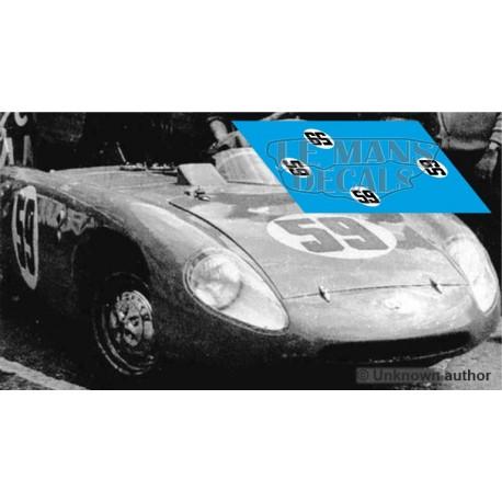 DB Deutsch Bonnet HBR  - Le Mans 1955 nº59