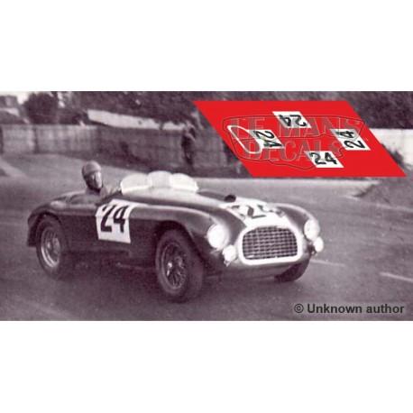 Ferrari 195 S - Le Mans 1950 nº 24